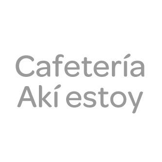 Oferta Cafetería Akí Estoy