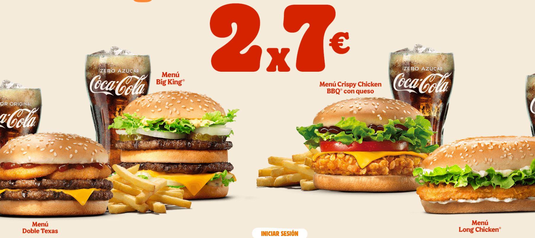Oferta Burger King