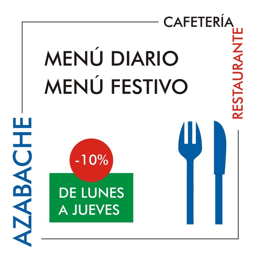 Oferta CAFETERÍA RESTAURANTE AZABACHE