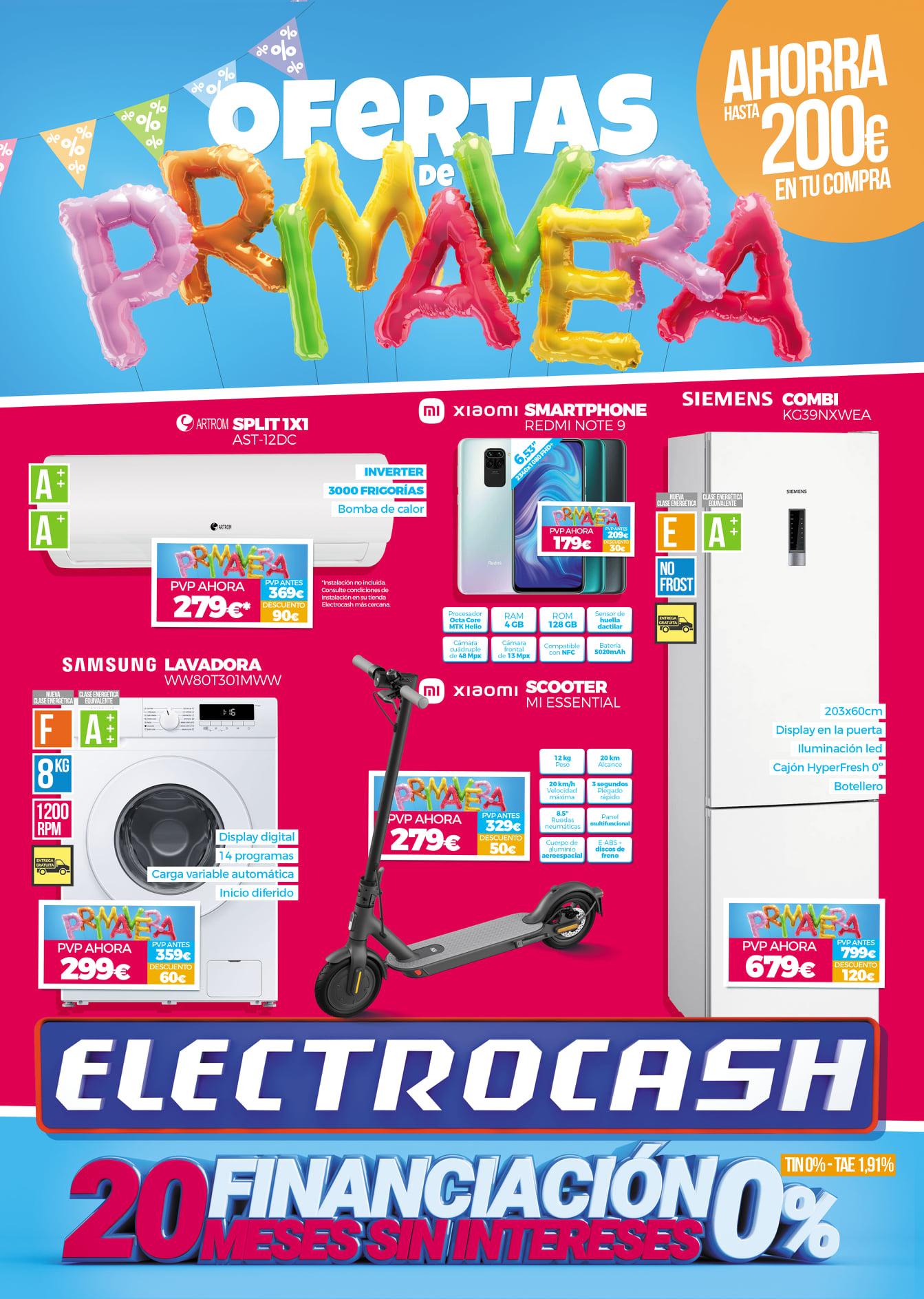 Oferta ELECTROCASH Electrodomésticos