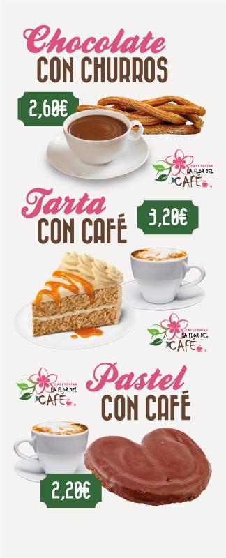 Oferta Cafeterias La Flor del Cafe y Restaurante Fiore