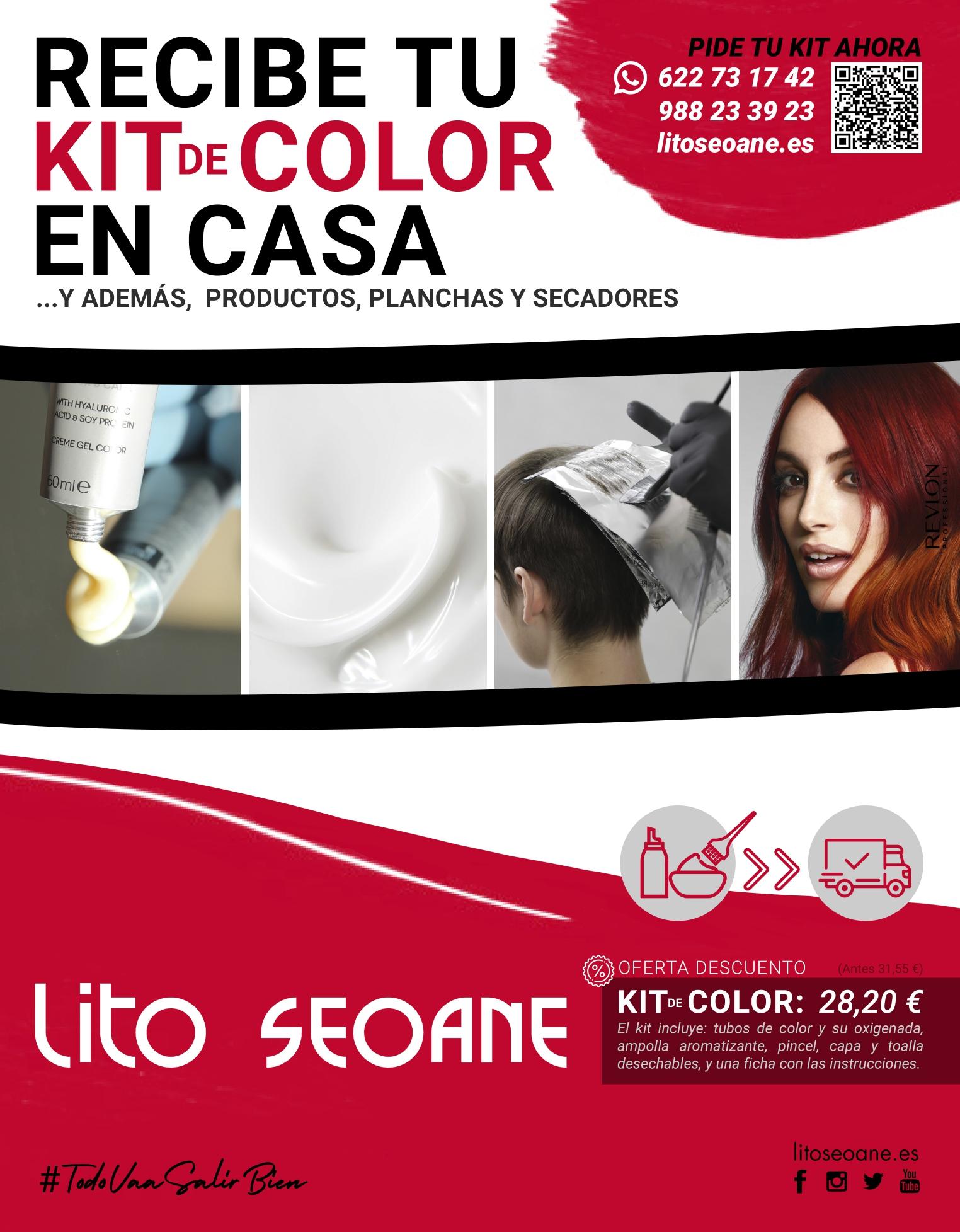 Oferta Lito Seoane Peluqueros