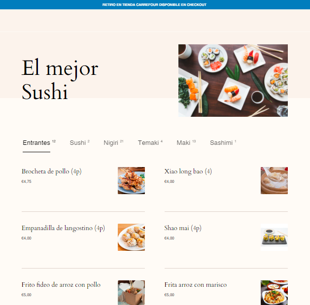 Oferta Your Sushi House