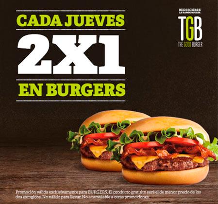 Oferta TGB The Good Burger