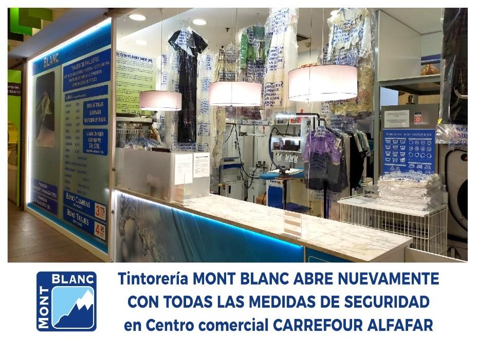 Oferta Tintorería Mont Blanc